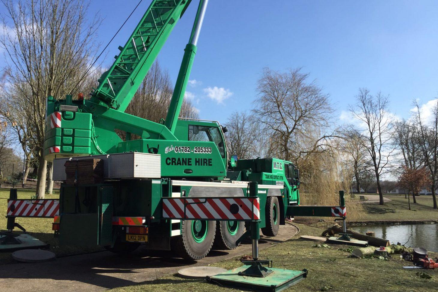 Liebherr Telescopic Crane Hire / Mobile Crane Hire