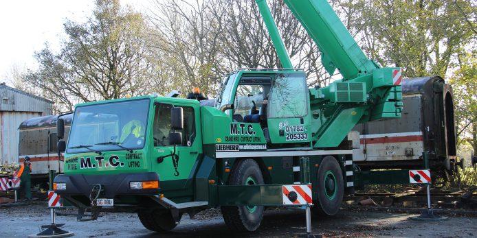 Telescopic Crane Hire : All terrain crane hire mobile telescopic cranes