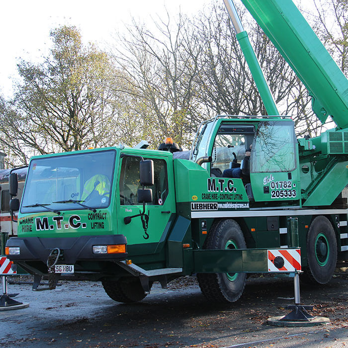 Crane Hire in Staffordshire