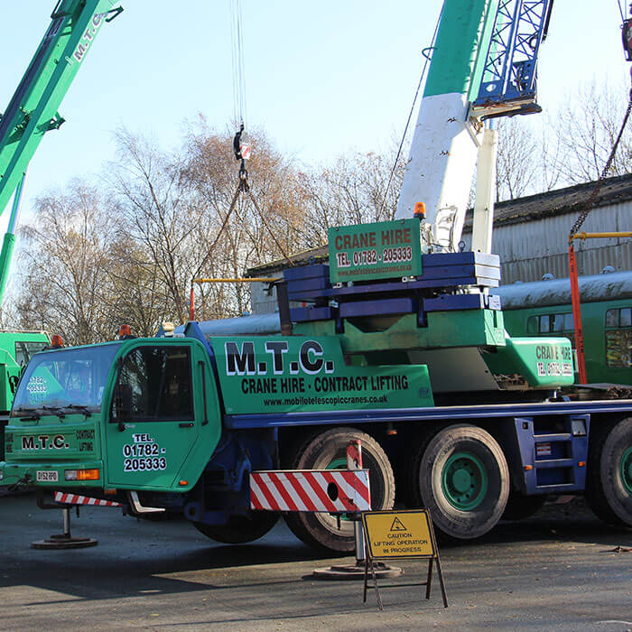 Telescopic Crane in Staffordshire